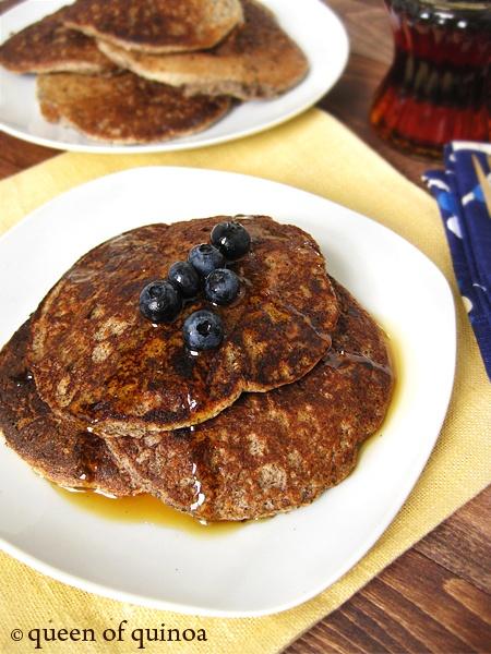 Gluten-free Quinoa Pancakes | Queen of Quinoa