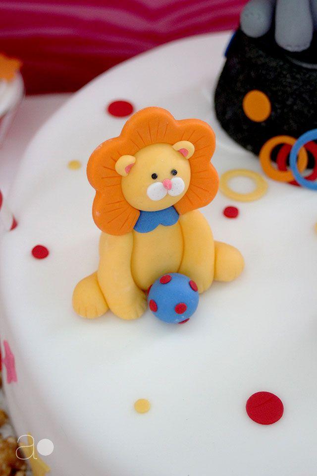 ambrosia: Birthday Circus Cake