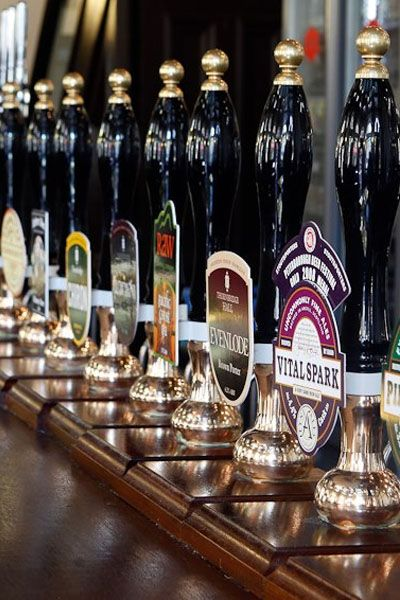 With 37 beers on tap and 300 more in bottles, the main problem at the Craft Beer Company in London is knowing where to start.