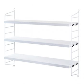 String Pocket shelf, white