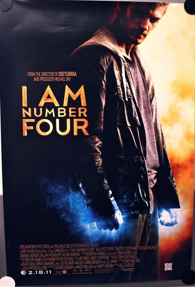 I AM NUMBER FOUR (2011) - Timothy Olyphant #SciFi # ... I Am Number Four Movie Poster