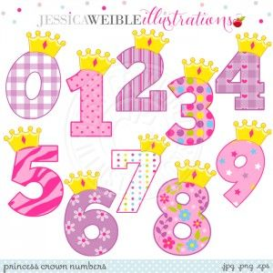Princess Crown Numbers