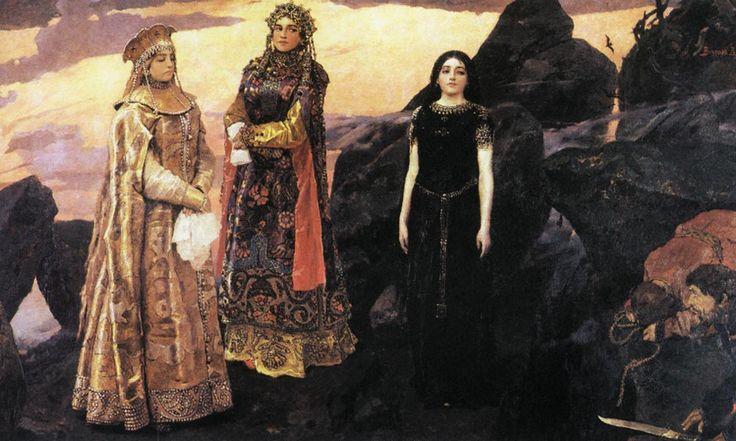 три цпревны подзевного царства