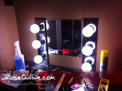 Vanity Light Mirror Nz : 1000+ images about Dressing & Vanity on Pinterest Make up storage, Lighted mirror and Diy makeup