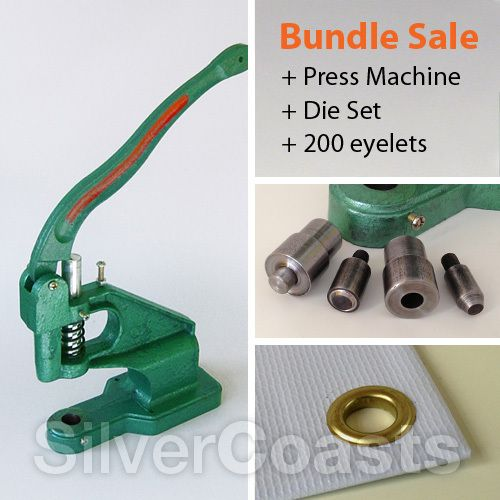 Best Banner Eyelet Setter Machines Images On Pinterest - Vinyl banners with eyelets