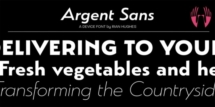 Argent Font Download With Images Fonts San Download Fonts