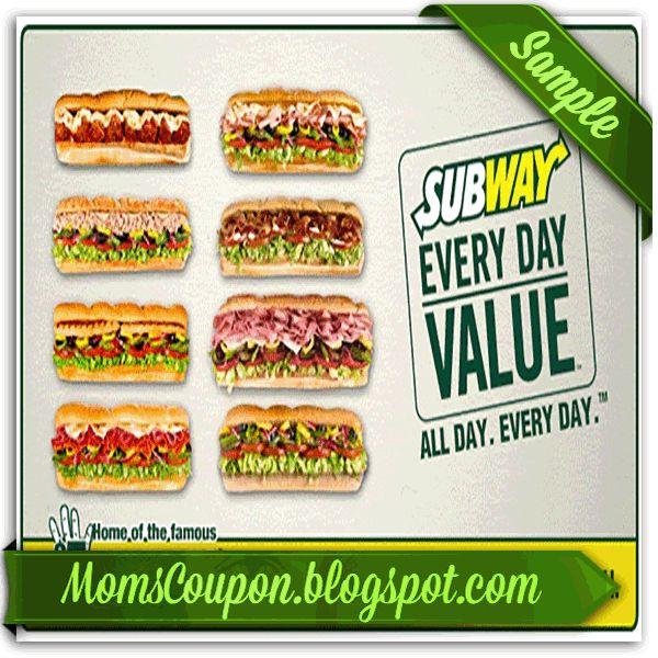 printable Subway coupon 20 for January