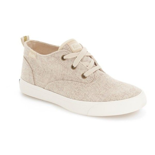 Women's Keds 'Triumph' Sneaker ($60) ❤ liked on Polyvore featuring shoes, sneakers, oatmeal, keds sneakers, keds, keds shoes and keds footwear