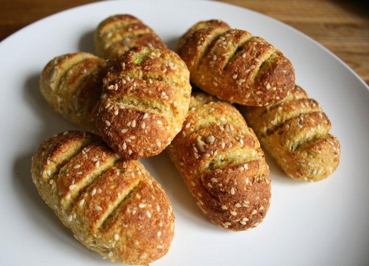 Glutenfritt bröd med Zucchini (Utan kolhydrater)
