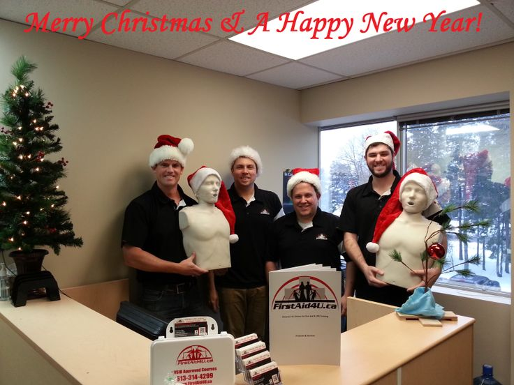 #Merry #Christmas from the Management team at #Firstaid4u !  Wishing everyone a #safe & Happy #Holiday season!