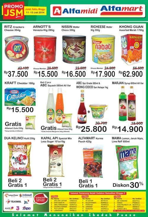 Alfamart: Promo JSM @alfamidi_ku