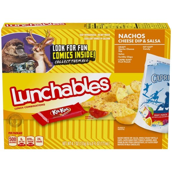 Oscar Mayer Lunchables Nachos With Cheese Dip And Salsa Food Shop Lunchables Grocery Shop