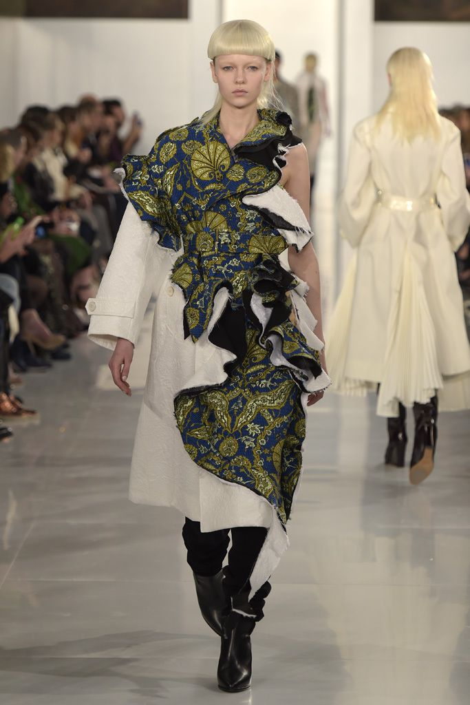 Jacquard explosion - Margiela by Galliano