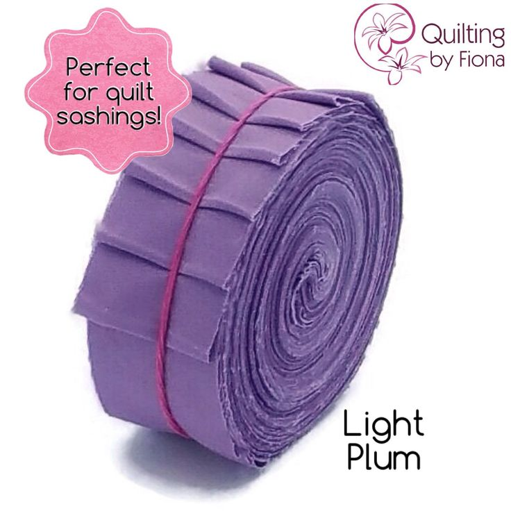 A personal favourite from my Etsy shop https://www.etsy.com/listing/231374503/20-light-plum-purple-precut-honey-bun