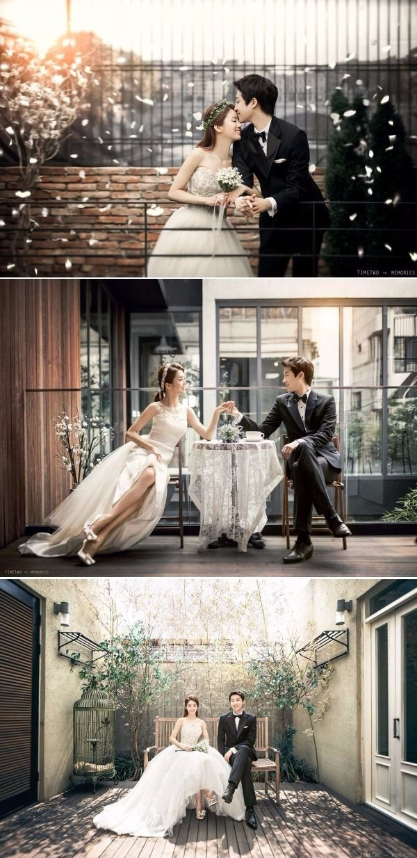 Lovely and Elegant Semi-Casual Date Korean Pre-wedding Photoshoot From The Comfort Of A Studio - Timetwo Studio, Cafe, Flower Petals, Indoors
