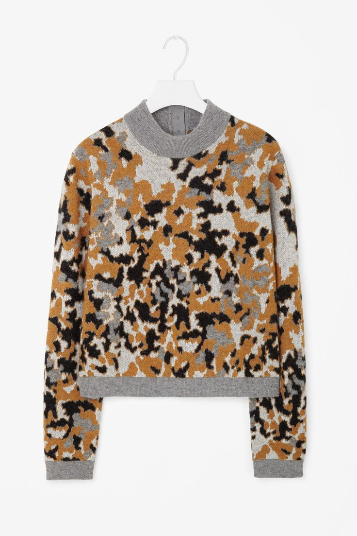 mode : pull, tricot, Cathrina Broderick, camouflage, COS