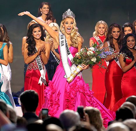 Miss Oklahoma Olivia Jordan won Miss USA 2015