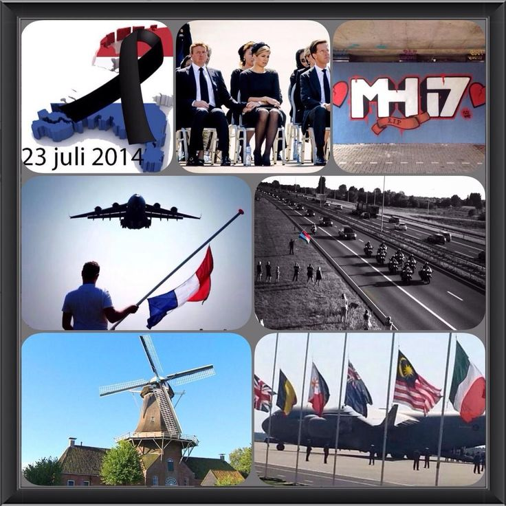 July 23, 2014: National day of mourning in the Netherlands. #mh17 #netherlands #respect