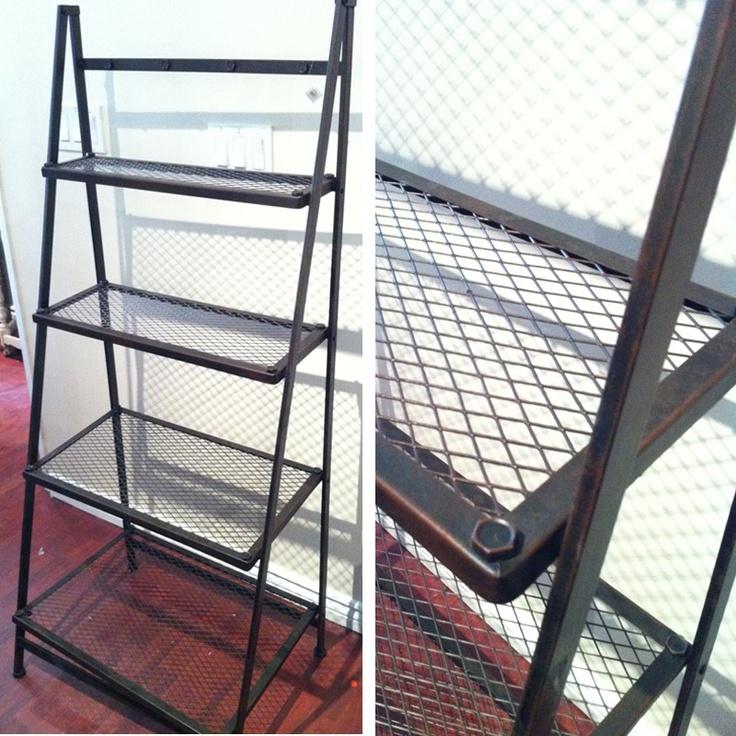 Four Tiers Metal Shelf $199 - Toronto http://furnishly.com/catalog/product/view/id/3483/s/4-tiers-metal-shelf/
