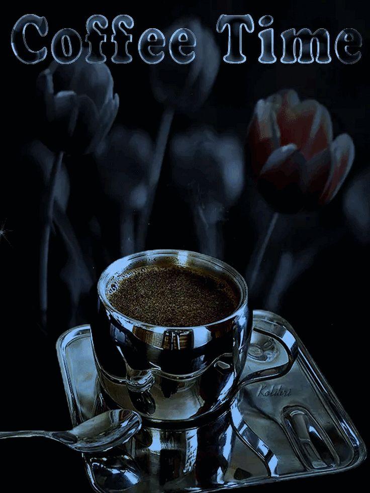Картинка чашка кофе гифка