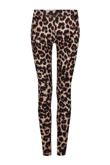 Leggings Animalier Leopardati