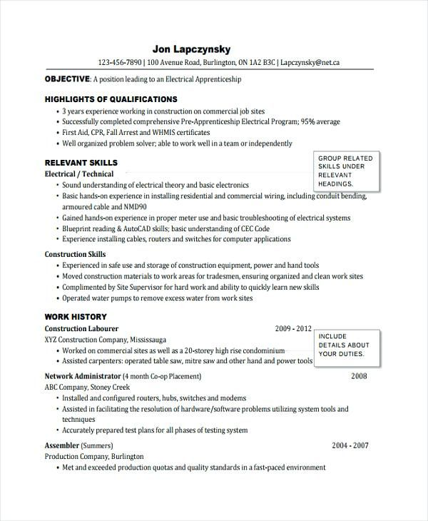 master electrician resume sample electrician resume template ...