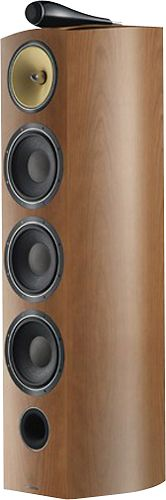 "Bowers and Wilkins - 803 Diamond 7"" 500W 3-Way Floor Speaker (Each) - Cherry (Red)"