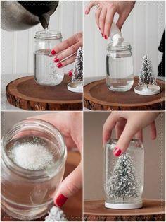Como fazer um globo de neve para o Natal         |          c.h.e.s.l.l.e.r