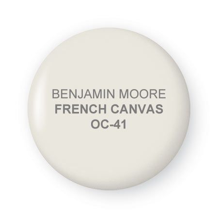 French Canvas paint by Benjamin Moore ~ Bright, neutral and clean with a hint of Green