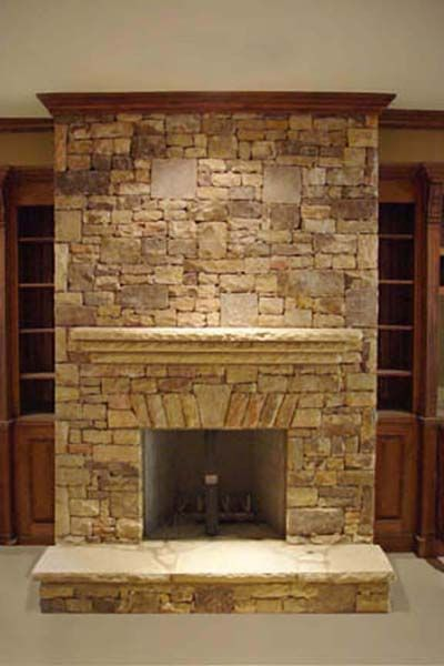 26 best Fireplaces images on Pinterest | Rock yard, Natural stones ...
