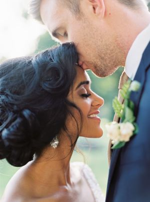This wedding was the ultimate blending of cultures
