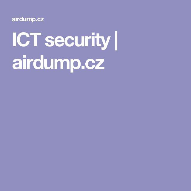 ICT security | airdump.cz