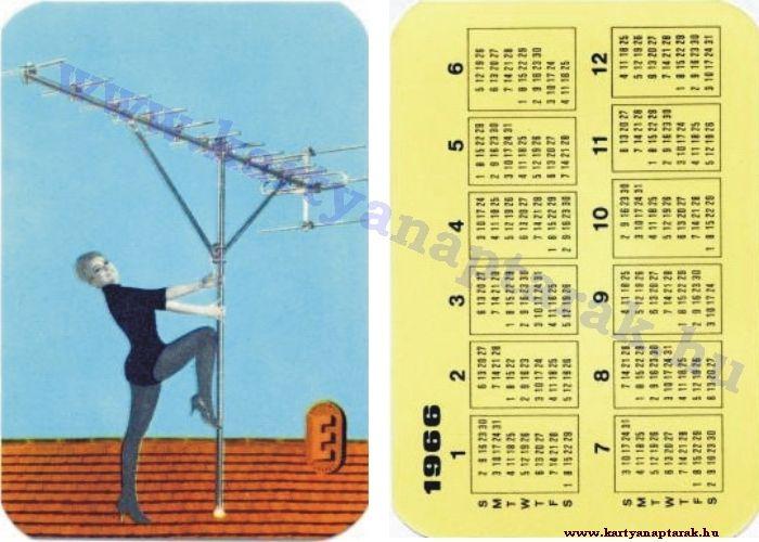 1966 - 1966_0063 - Régi magyar kártyanaptárak