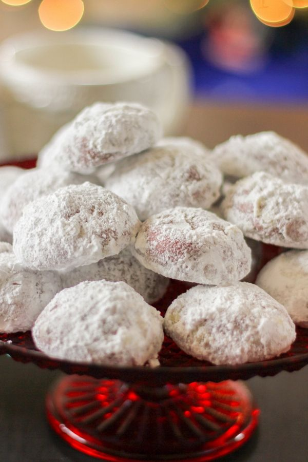 These festive holiday Red Velvet Snowball cookies melt in your mouth and are simply delicious!