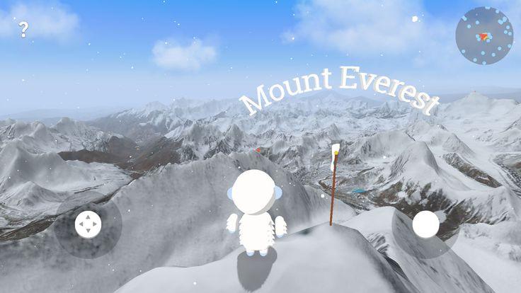 Googleマップの3D画像を使用し、イエティになって360度3Dのヒマラヤ山脈を探検するゲーム「Verne: The Himalayas」がGoogleから登場しました。Verne: The H