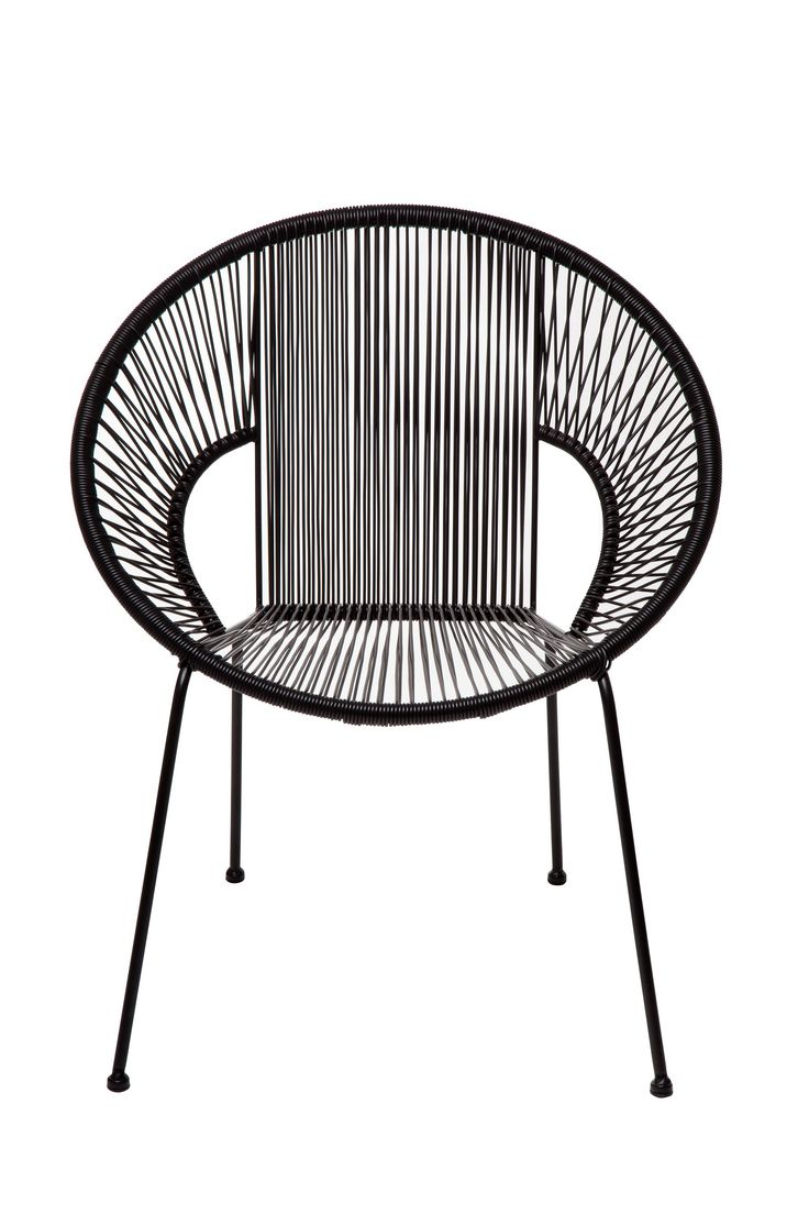 Nice Replica Acapulco Dining Chair Black