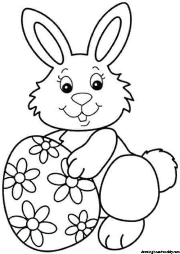 Easter Bunny Coloring Page Bunny Coloring Pages Free Easter Coloring Pages Easter Bunny Colouring