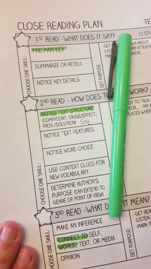 The Classroom Key: Taking the Rocket Science out of Close Reading                                                                                                                                                                                 More
