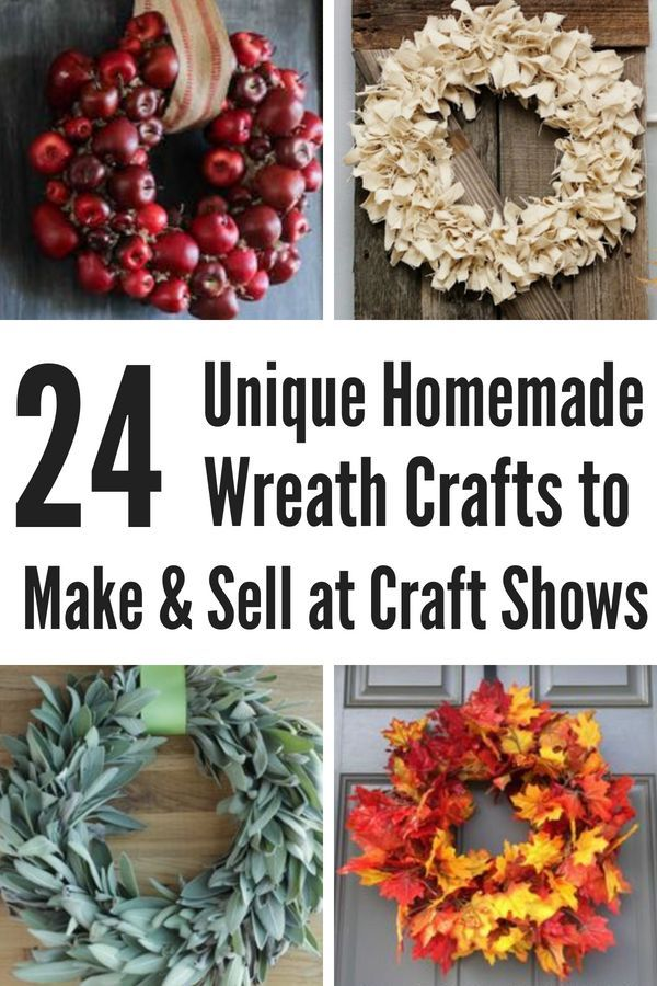 Diy Wreath Ideas To Make And Sell For Profit Crafts Pinterest