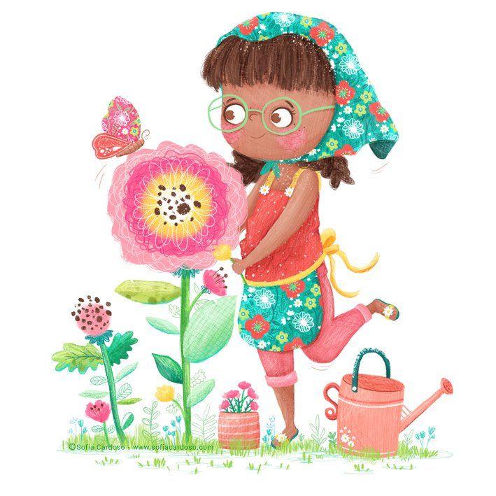 children's illustration by Sofia Cardoso #illustration #kidlitart