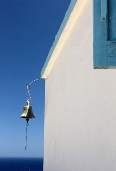 Karpathos - Bell in the blue