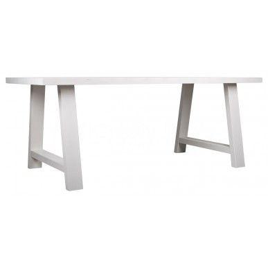Zuiver Eettafel A-Framed Wit hout 230 x 90 cm - DesignOnline24.nl