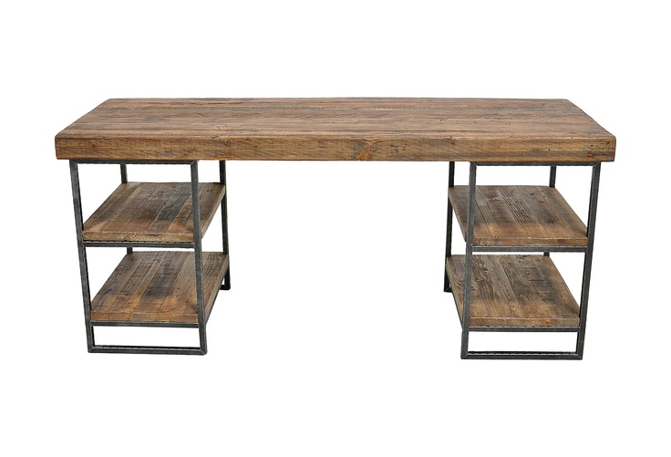 This would be perfect for me, if I had cute baskets to fit it! One Kings Lane - Rustic Living - Morella Desk