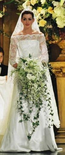 Дневники принцессы 2 свадебное платье