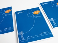 Agency: Wellmark | Client: SP AusNet Annual report 2012 | line drawings