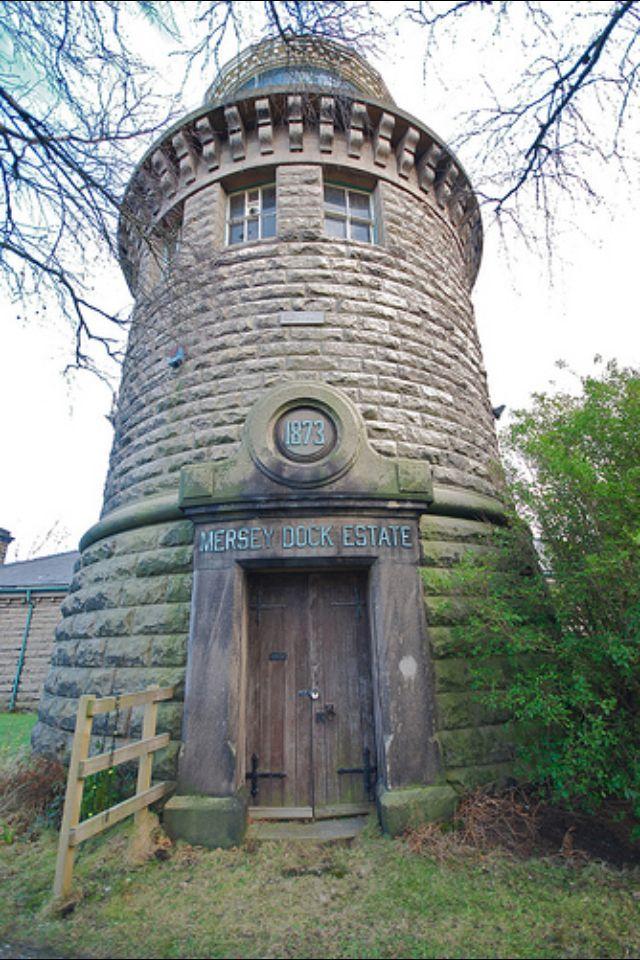 Bidston Lighthouse, Prenton Merseyside_England