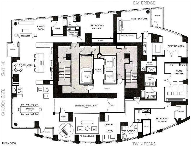128 best apartment floor plans images on Pinterest | Architecture ...
