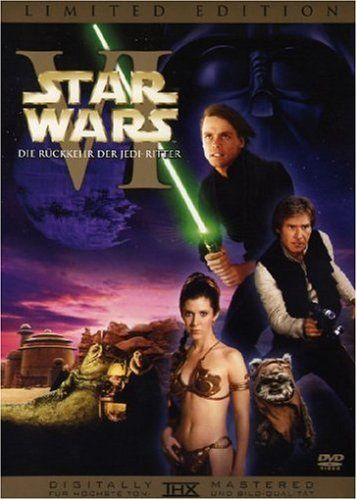 Star Wars: Episode VI - Die Rückkehr der Jedi Ritter * IMDb Rating: 8,4 (360.063) * 1983 USA * Darsteller: Mark Hamill, Harrison Ford, Carrie Fisher,