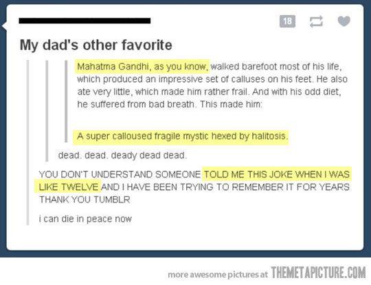 I love this joke.