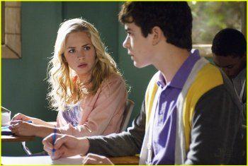 Britt Robertson and Joey Pollari in Avalon High (2010)